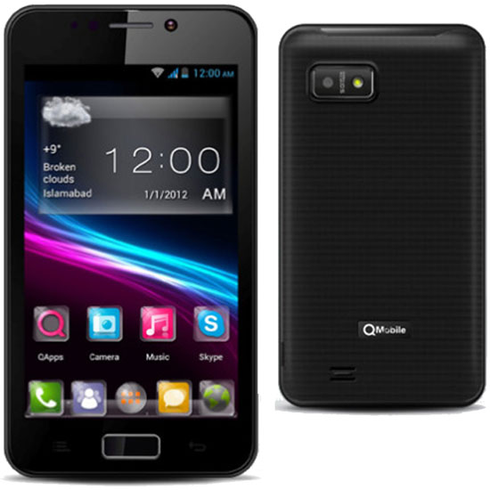 Qmobile A11 MT6577 firmware | flash file