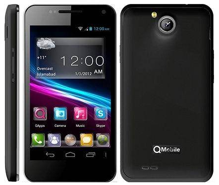 Qmobile A12 MT6577 firmware | flash file