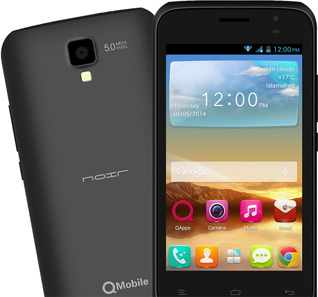 Qmobile A8i MT6572 firmware | flash file