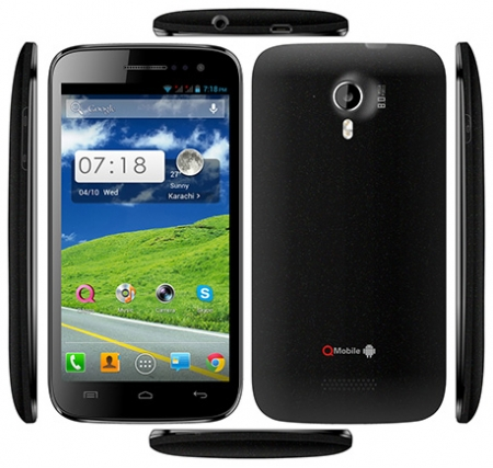 Qmobile A600 MT6589 firmware | flash file