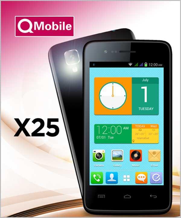 QMobile X25 MT6572 firmware | flash file