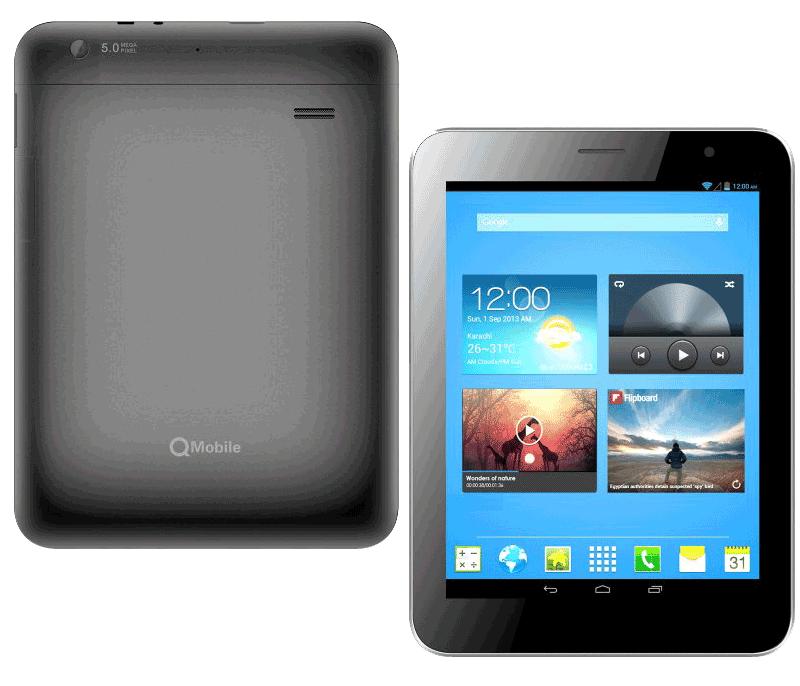 QMobile Tablet X50 MT6589 firmware | flash file