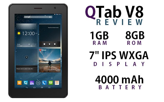 Qmobile QTab V8 MT6582 firmware | flash file
