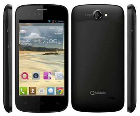 Qmobile A55 MT6572 firmware | flash file