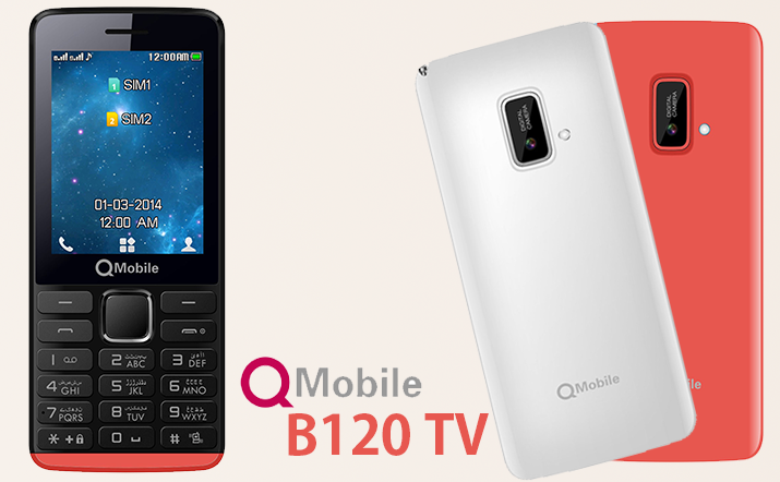 Q Mobile B120 MT6260 Flash file