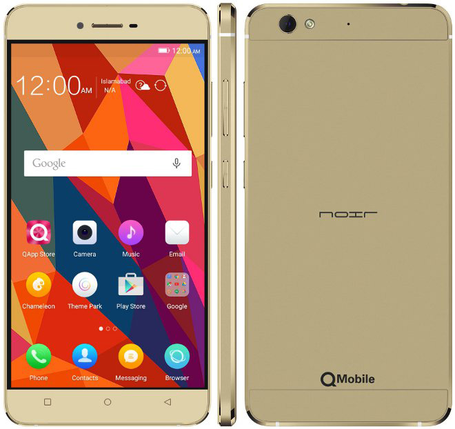Qmobile Noir Z12 firmware | flash file