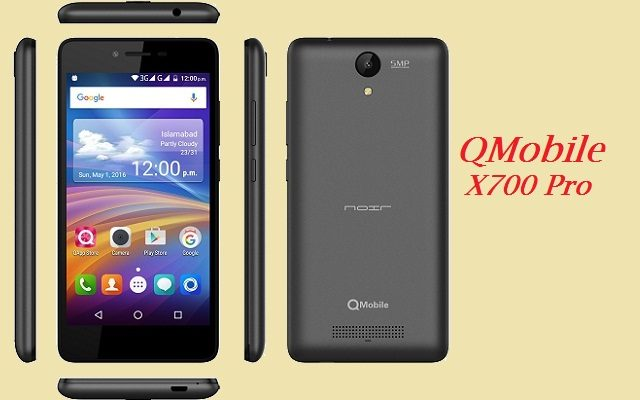 Qmobile X700 Pro Mt6580 firmware Flash File