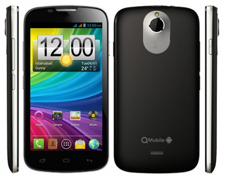Qmobile A80 MT6577 firmware | flash file