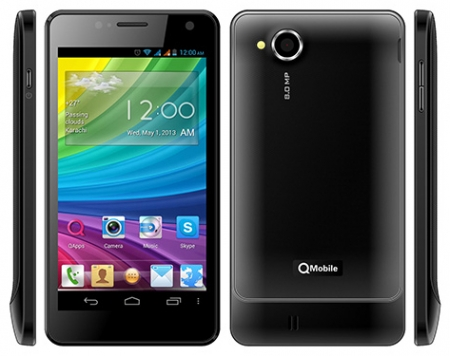 Qmobile A950 MT6589 firmware | flash file