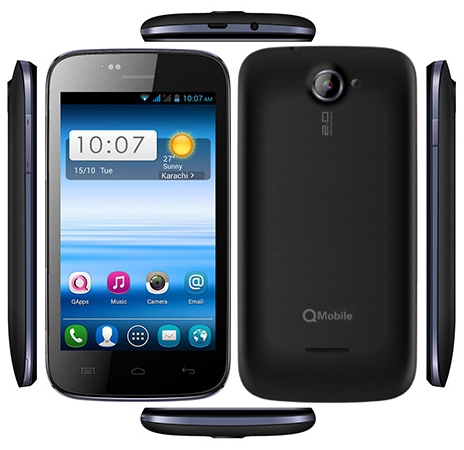 Qmobile A36 MT6572 Firmware Flash File