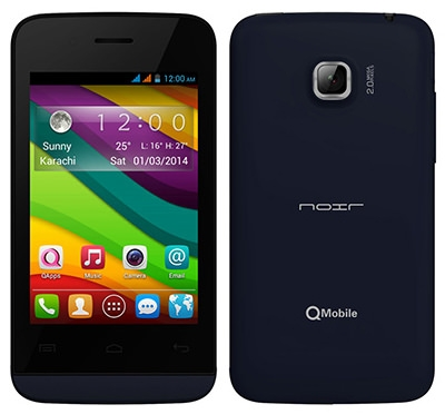 Qmobile Noir A110 MT6572 firmware | flash file