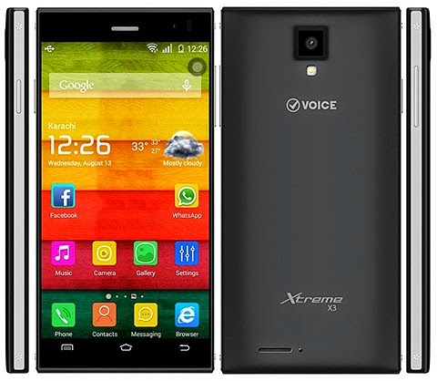 Voice Xtreme X3 Firmware Flash File