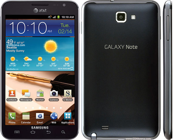 Samsung Galaxy Note I717 (AT&T) Firmware Flash File